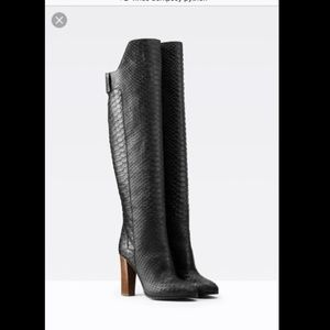 Vince Dempsey Over-the-Knee High Heel Boots